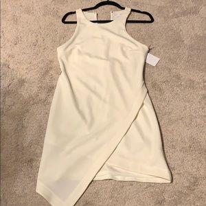 Brand new White sleeveless dress.